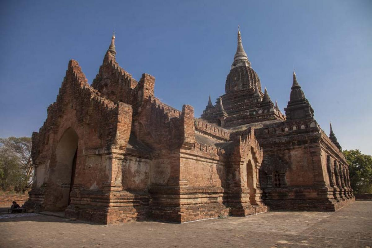 Carefree in Bagan, Myanmar