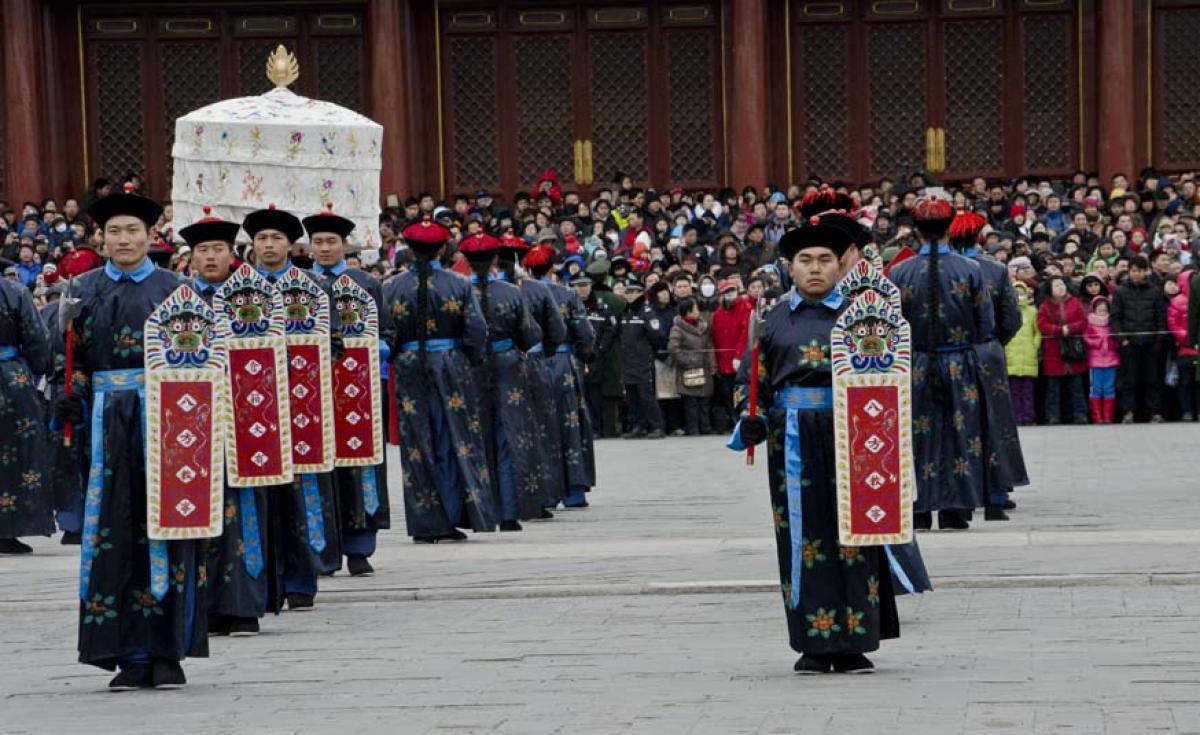 Chinese New Year, Temple of Heaven, Beijing, China